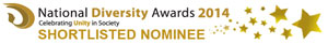 National Diversity Awards Nominee 2014